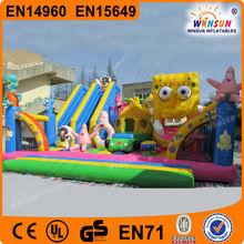Popular CE BV certificate custom giant Inflatable amusement sports city