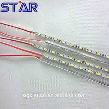 Ultra-Thin 4MM 0.1W 5730 LED Strip Rigid Bar 90leds/m 12V Rigid LED Edge lit strip for Slim Light Box Signs Display
