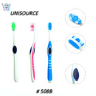 Toothbrushes with tongue cleaner