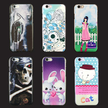 For iPhone 6 Colorful Painting customized high quality case Compatible Brand and Plastic Material