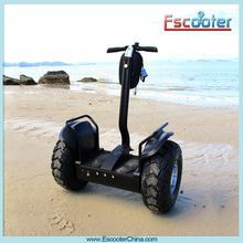 2014 Latest Self Balancing Off Road Scooter X2 Chariot, Compact Easy to Use Scooter with Anti Theft Alarm