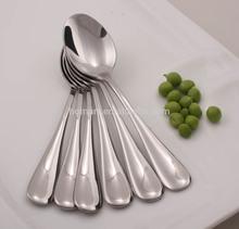 mirror polish hotel Stainless steel bulk metal spoons