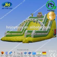 2014 lovely tiger custom slip n slide inflatable