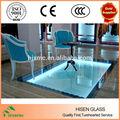 Tempered laminated glass Anti-slip floor design