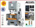 Jh21 presse pneumatique avec la fonction multi usage pour le poinçonnage et la formation c- type de presse hydraulique de poinçon utilisé pour faire le pot