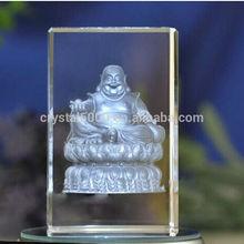3D crystal laser engraving photo crystal