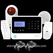 New Alarma,alarme,allarme !German,Spanish,France,Russian self defense safety gsm wireless home burglar security alarm system