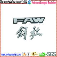 custom die casting ABS emblem, chrome auto sticker badge emblem