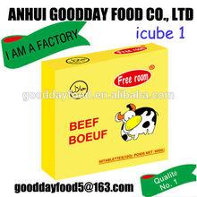 10g*60pcs*24boxes beef flavour dressing cubes
