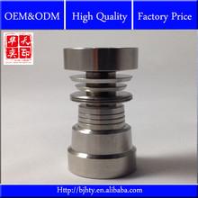 4 In 1 Domeless Titanium Ti Nail 14mm/18mm Male/Female&Carb Cap Dabber
