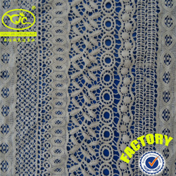 Attractive 100 cotton indian bridal lace fabric form guangzhou