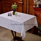 137cm PVC Printed Table cloth for banquet