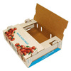 Hot Sale Waxed Fruit Carton Box For Tomato Packaging