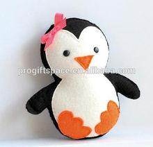 hot sale high quality promotional new product useful item handmade eco friendly cheap felt 2015 cartoon penguin for christmas
