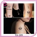 projeto personalizado impermeável china tatuagem autocolante impressão