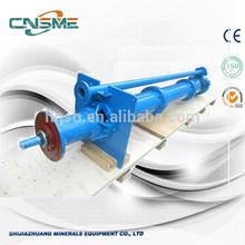 vertical spindle pump interchangeable shaft seal vertical slurry pump