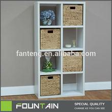 Hot Sale Muti-purpose Storage and Shelf PU Paper Cover Cube Storage Panel Bookshelf