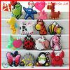 christmas decoration 2014 New hot sale cartoon animal design pvc plastic magnets for fridge