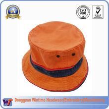 wholesale high quality screen printing cheap new style fashion custom bucket hat