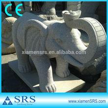80CM granite garden elephant sculpture