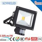 12V 24V Solar led Flood Lighting solar motion sensor security light 10w 20w 30w 50w