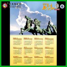 Chineses 2014 Spiral Bound Desk Calendar Printing