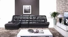 Genuine Leather Tall Back Sofa Set