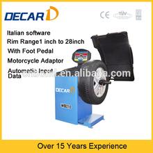 CE WB210 factory supply auto digital static wheel balancer for distrinutor