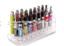 venta al por mayor de acrílico del cigarrillo mostrar al por menor en varios tamaños y estilos