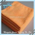 esencial del piso sólido de color naranja paños de limpieza de coche venta al por mayor toallas de microfibra
