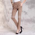 Newest hot sell fashion OEM wholesale high waist pants women harem pants
