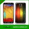Fashion design gel epoxy cell phone skin manufacturer