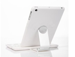 2013Hot sales New Arrival Cover Case with Swivel Rotary Stand + Bluetooth Wireless Keyboard For iPad mini