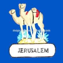 Jerusalem souvenir tourist, custom Jerusalem tourist souvenir fridge magnet