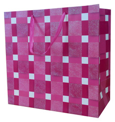Large sized high quality handmade paper shopping bag in stocks
