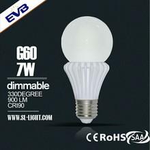 High Efficiency High power led light, patent design led light bulb Fluorescent Ceramic LED Bulb