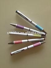 manually open , new style pen, custom logo plastic pen for MDS-P6284