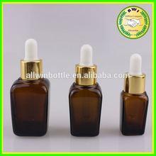 Market trend childproof tamper cap glass eliquid bottles eye solution bottle