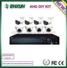 2014 New Casing!!!Enxun 8CH AHD DVR KIT- 1.0MP 720P Analog Camera HD Security Camera System