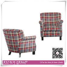 Single wooden antique sofas and chairs