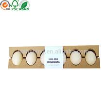 Custom made handmade corrugated paper egg packaging for sale