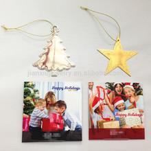 Customized shape Christmas ornament