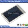 Protable USB Solar Charging Case 5000mAh Solar Panel power Bank