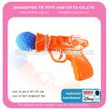 nuevo producto de pistola de tiro con juego de pelota bebé de juguete de ali baba