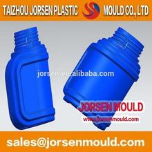 Watering pot hollow blow molding mold, zhejiang huangyan mold manufacturing process