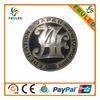 chrome auto emblems chrome badge small car manufacturer logo