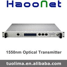 Fibre optique fttx 1550nm émetteur laser dfb/1550 directement émetteur optique de modulation