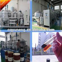 Waste or Used motor oil to diesel fuel oil plant
