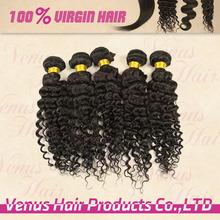 Natural Colored 12~30Inch Length 100% Virgin Human Brazilian Loose Deep Wave Hair Weave