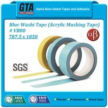 Customized acrylic japanese masking washi tape jumbo roll